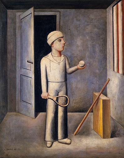 Carlo-Carra,-Il-figlio-del-costruttore-1918-1921